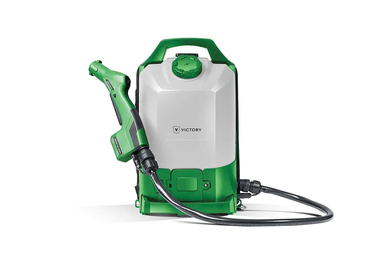 Cordless Backpack Electrostatic Sprayer - Spray Less Chemical