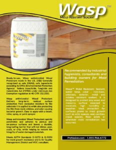 Wasp Mold Resistant Coating